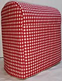 7 quart proline - Quilted Cover for Kitchenaid 7 Quart Proline Lift Bowl Stand Mixer (All Red Checked)