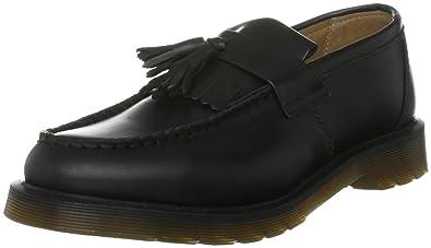 Dr. Martens Unisex-Adult Adrian Smooth Black Slip On Shoe 13843001 4 UK