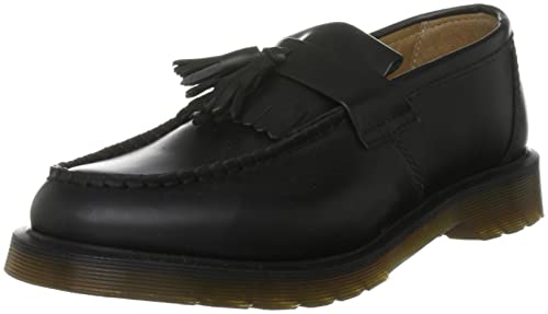 1b7b3c6bf94 Dr. Martens Unisex-Adult Adrian Smooth Black Slip On Shoe 13843001 7 UK