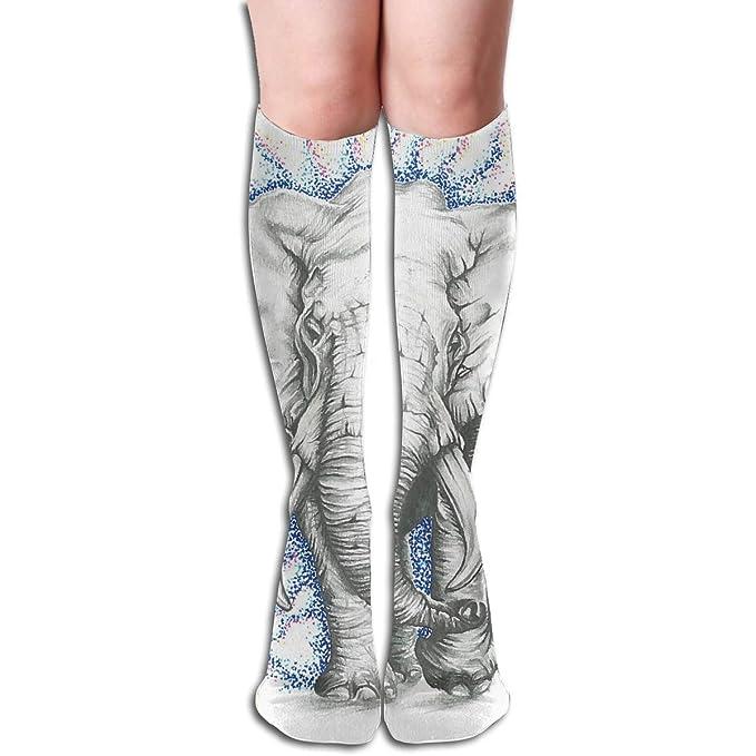 Women Tube Knee High Socks 50CM Spider Man Over-The-Calf Tube Sports Socks Extra Long Stocking
