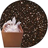 Glitter My World! Craft Glitter: 25lb Box: Bronze Blitz