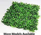 GENPAR Artificial BOXWOOD HEDGE covers 33 SQ FT, adds protection privacy fences box consist of 12 PANELS (20'' x 20'') UV PROTECTION, INSTALL DIY. 15 YEARS life span. (A018)