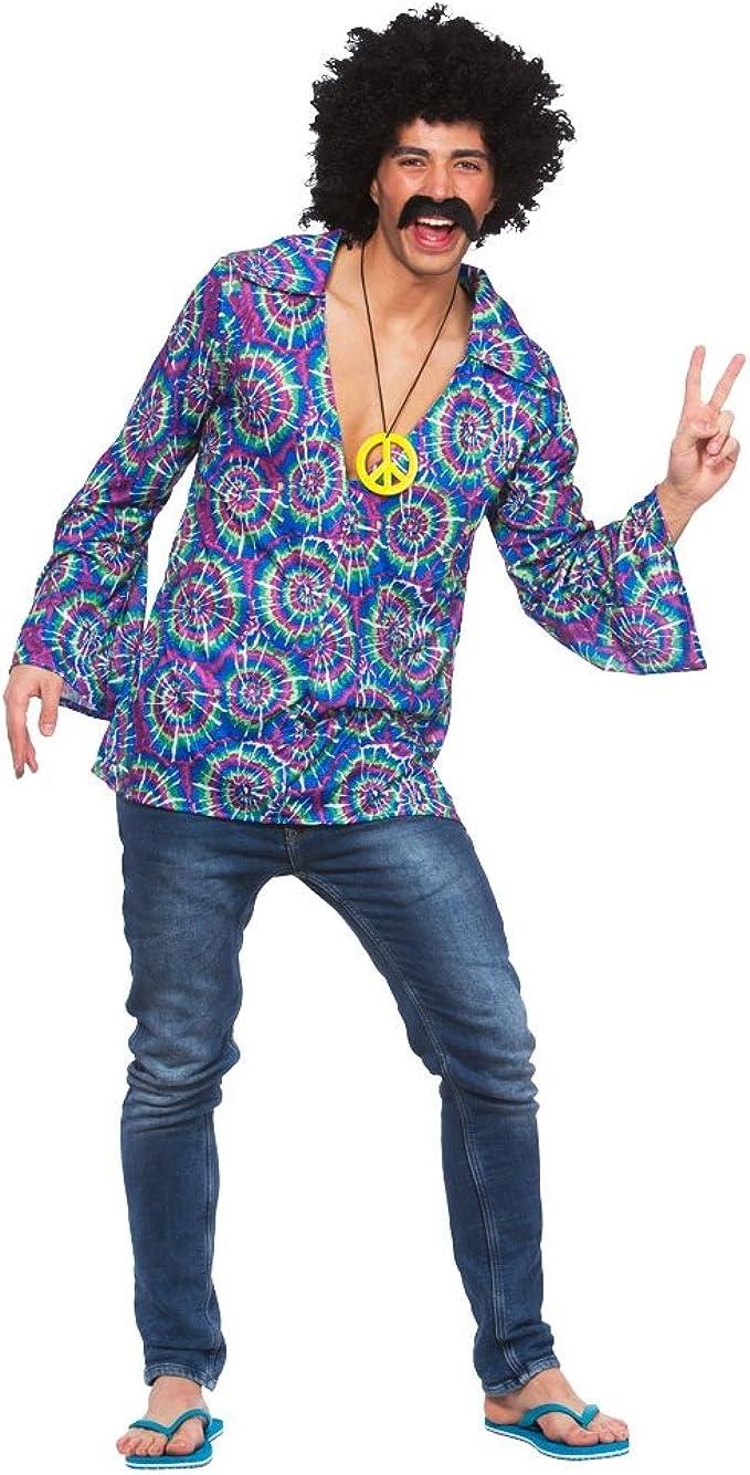 Wicked Costumes Disfraz de Hippie para adultos, ideal para fiestas y...