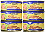 Lowell Foods Turystyczna Spiced Pork Loaf, 10.5 Oz. (Pack of 6)