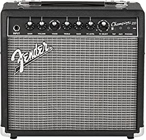 fender champion 20 20 watt electric guitar amplifier musical instruments. Black Bedroom Furniture Sets. Home Design Ideas