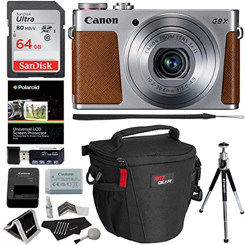 Canon PowerShot G9x Mark II Digital Camera with 3x Optical Z