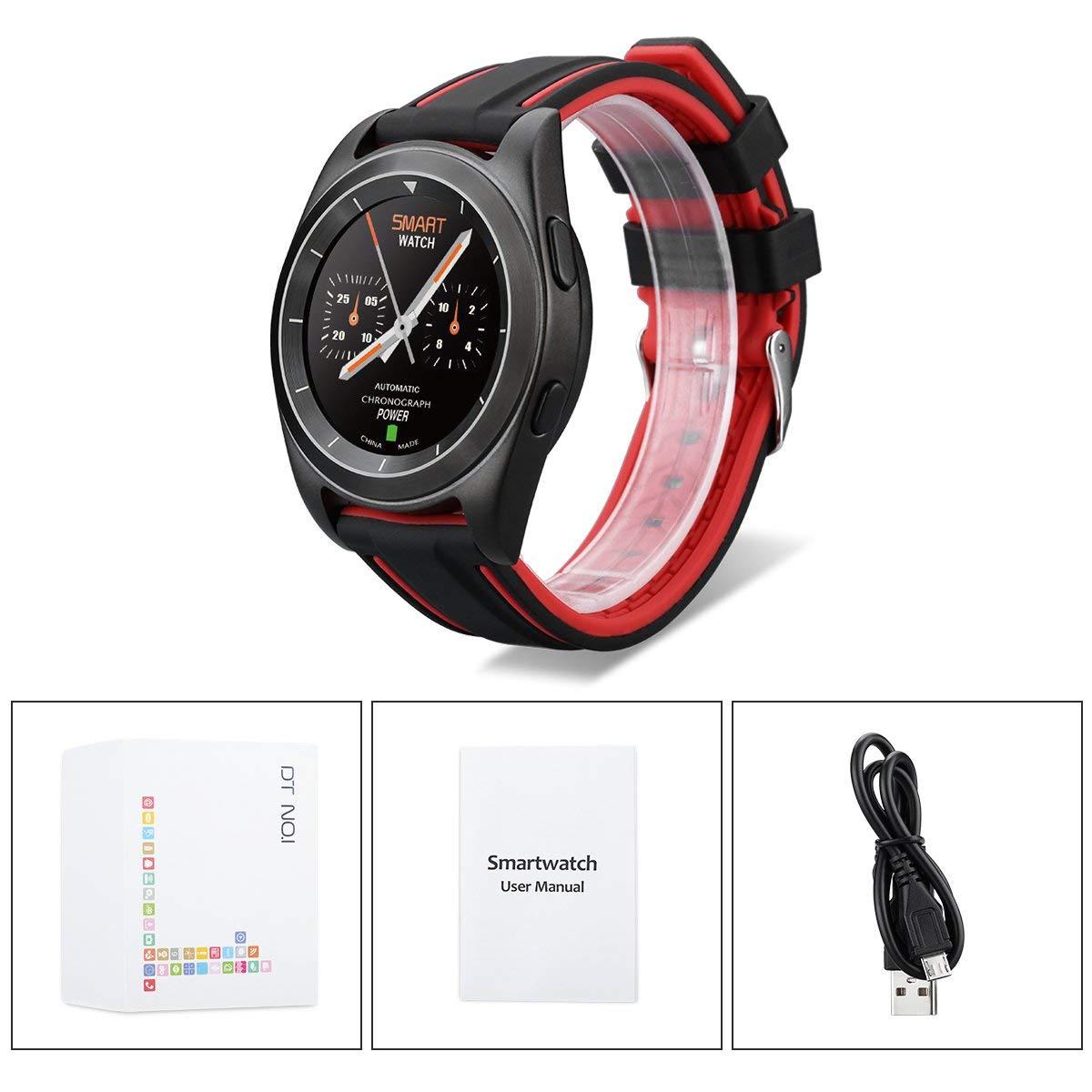 Amazon.com: LXJTT Sport Bluetooth 4.0 Smart Watch MT2502 HD ...