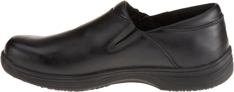 Genuine Grip Footwear Mens Slip-Resistant Slip-On Work Shoes