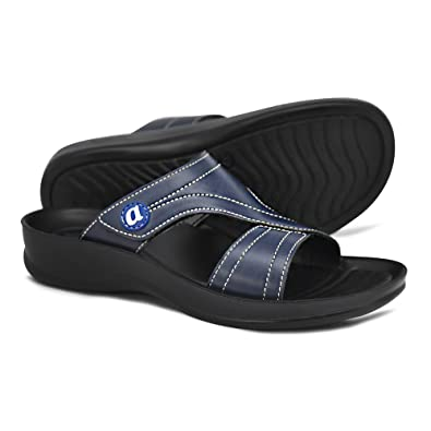 a692e8c0092 AEROTHOTIC Orthotic Comfort Midfoot Strap Sandals and Flip Flops with Arch  Support for Comfortable Walk (