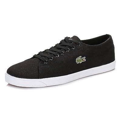8d6b8e83f1 Lacoste - Homme Marcel Lcr2 SPM Chaussures de Toile - Noir - Noir ...