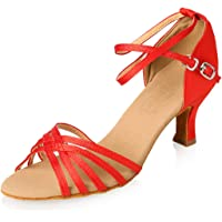 APTRO Zapatos de Baile para niños Zapatos Latinos