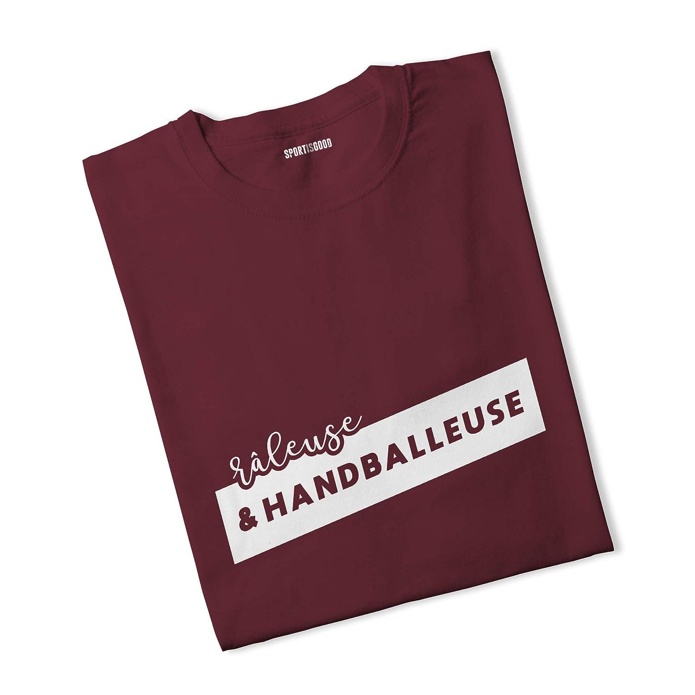 Sport is Good T-Shirt Femme Râleuse et handballeuse