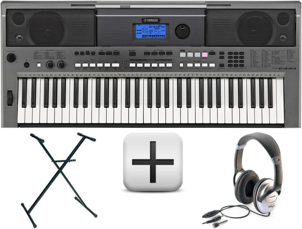 Yamaha PSR E443 Set de teclado y accesorios: Amazon.es ...