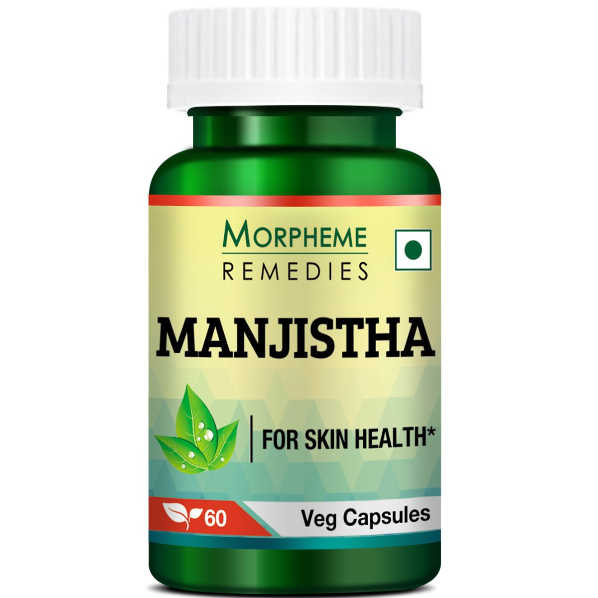 Morpheme Remedies Manjistha Extract - 500 mg (60 Capsules)