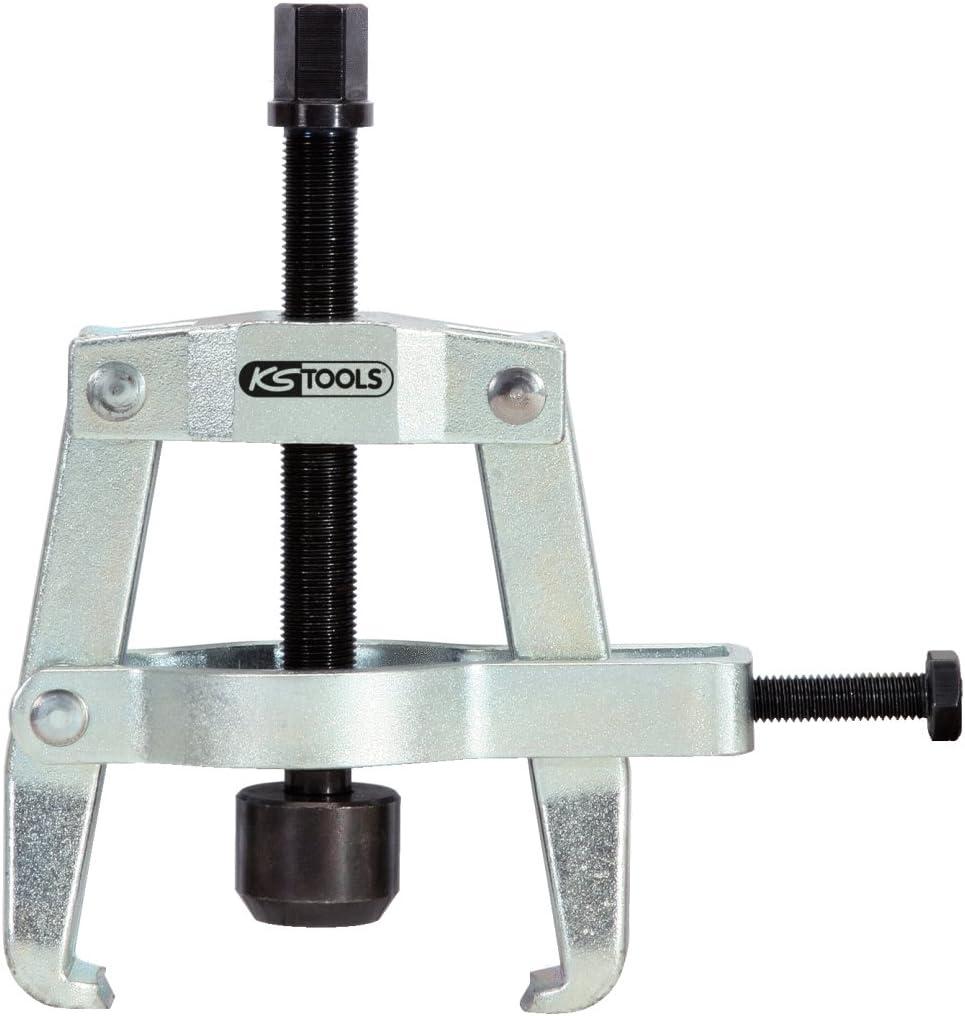 m/áximo 90 x 100 mm 90mm KS Tools 700.1260 Extractor de anillos de rodamientos de dos brazos con estribo de sujeci/ón