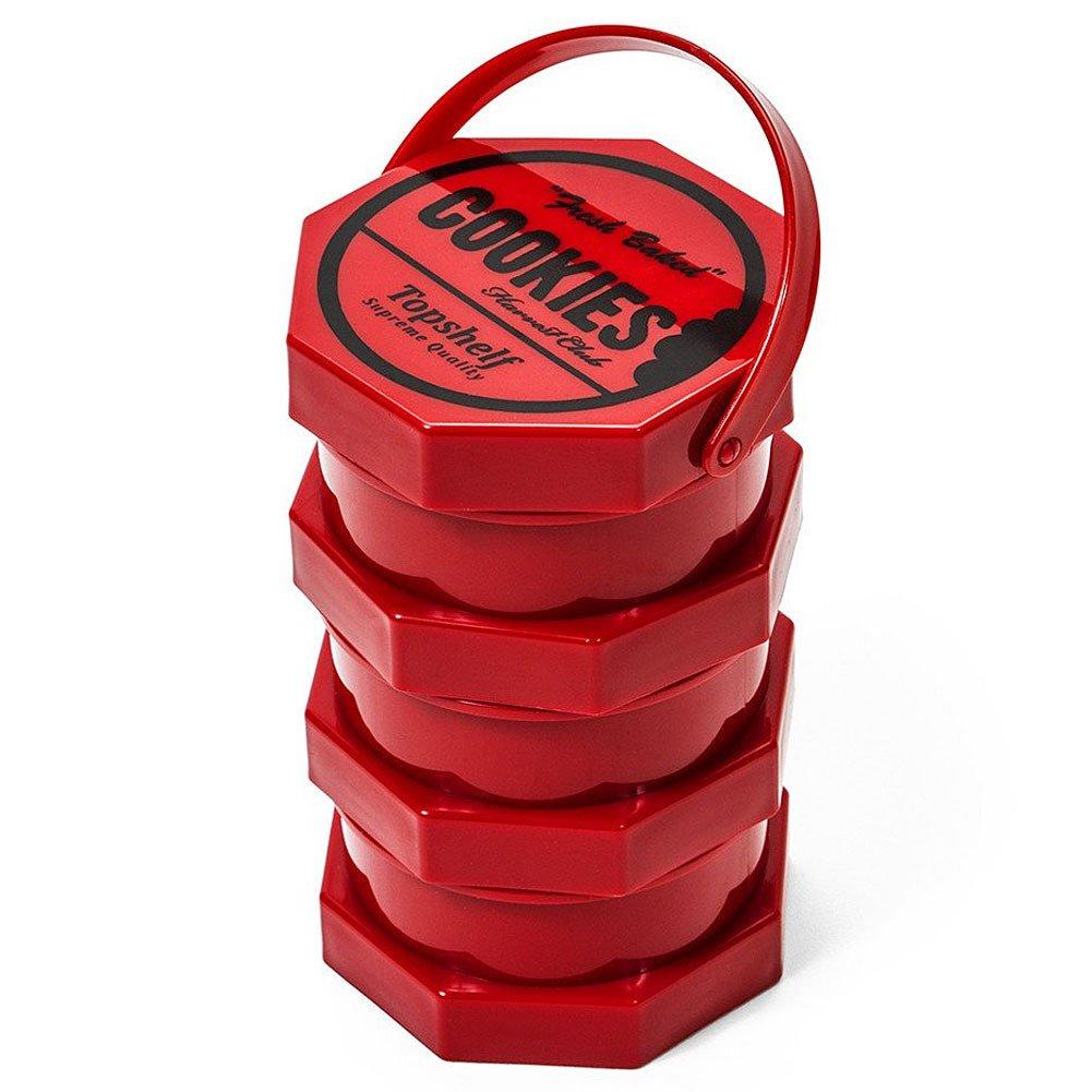 Goodlife Cookies SF Jar 3 Stack Red