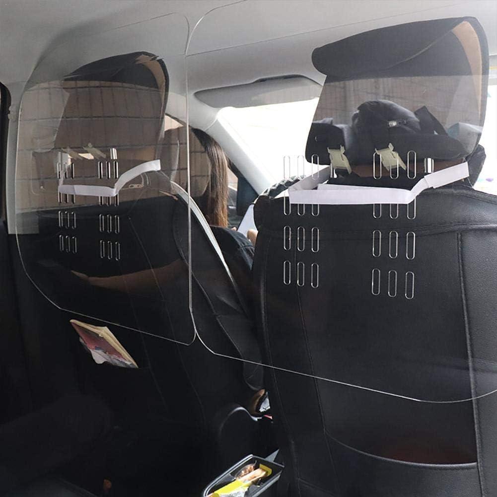 Spuckschutz Niesschutz Virenschutz Transparent Vollst/ändig Einwickeln Autoschutzschild Seasaleshop Hustenschutz Trennwand F/ür Auto 60 X 60 cm