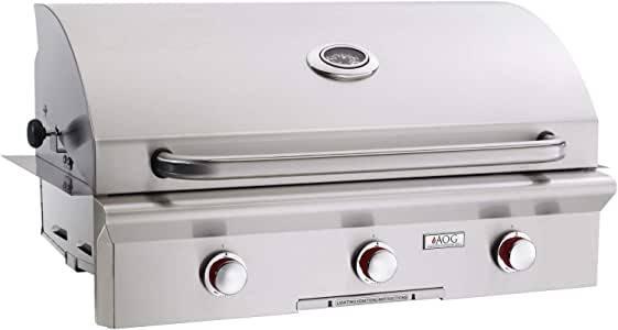 AOG American Outdoor Grill T-series 36-inch 3-burner Built-in Natural Gas Grill - 36nbt-00sp