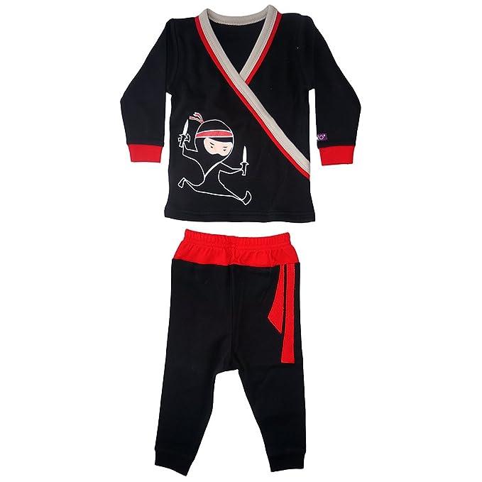 Niños NINJA largo pijama: Amazon.es: Ropa y accesorios