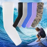 KOVISS 3 Pairs of Sports Cooling Arm Sleeves UV