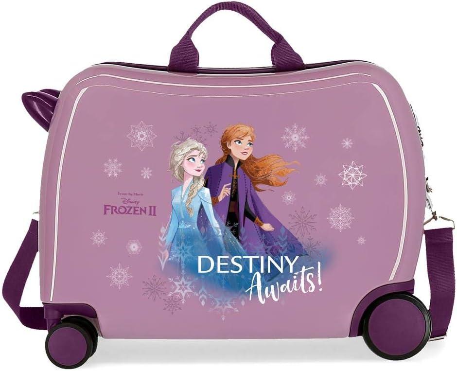 Disney Maleta Infantil Frozen Destiny Awaits con Ruedas Multidireccionales