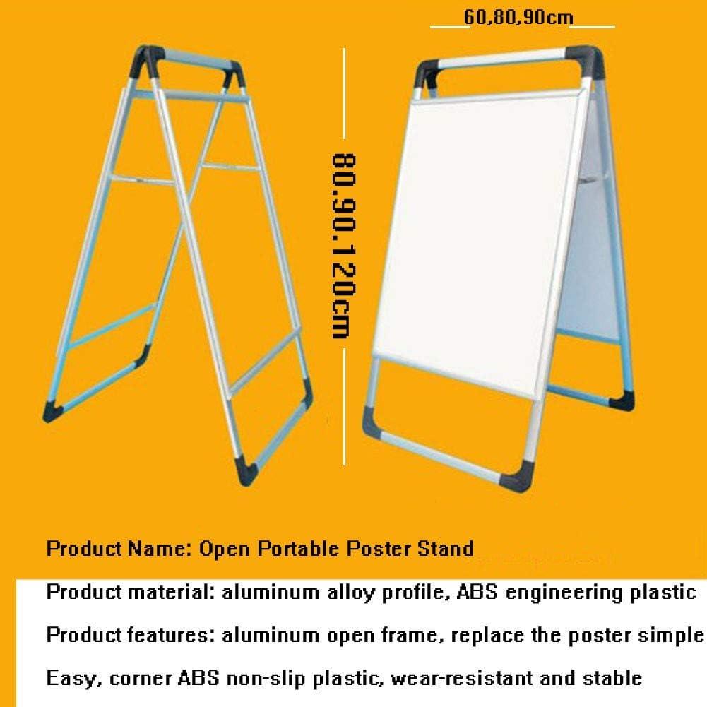 GAO Cornice per Poster in Alluminio Cornice per Poster monofacciale in Alluminio A Cornice pubblicitaria Portatile a Doppia Faccia