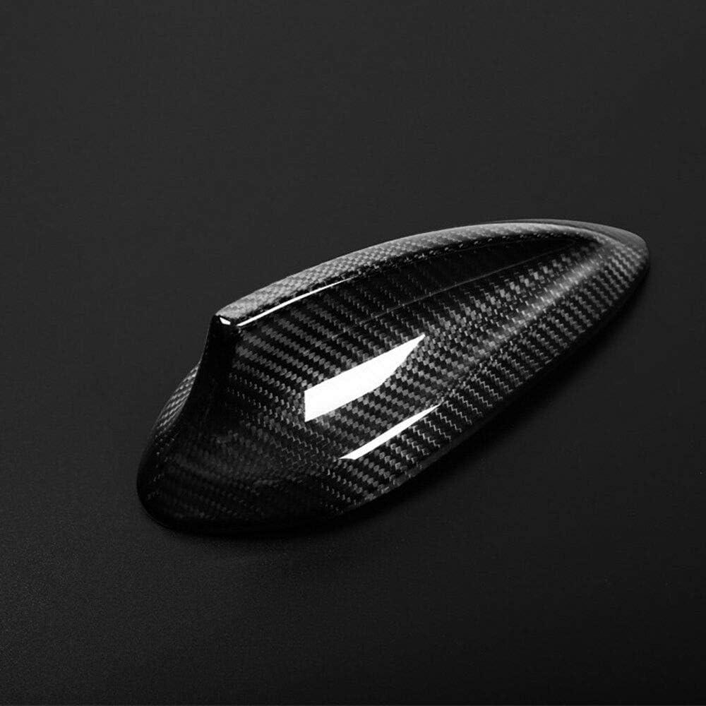 KWWBLX Antenne de Voiture pour BMW M2 F87 2016-2018 Housse dantenne de Voiture en Fibre de Carbone Shark Fin Glossy Black Accessory Utile Pratique Portable