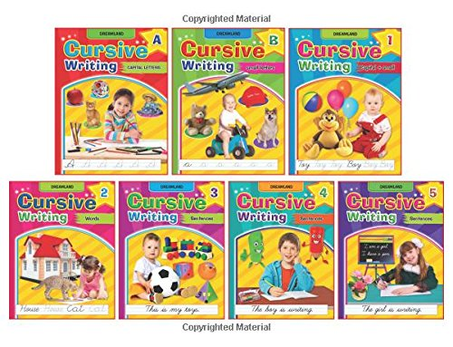 Cursive Writing Book (Set of 7 Books)