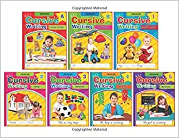 Buy Cursive Writing Book Set Of 7 Books Book Online At Low