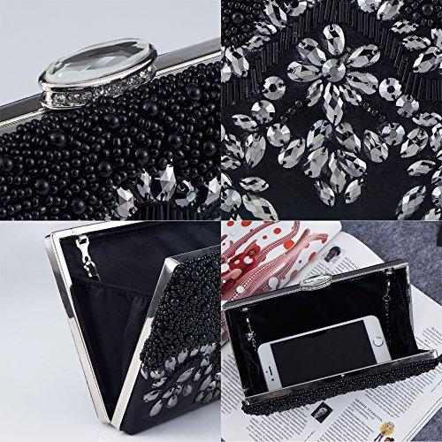 Bagood Noir pour femme Pochette pour Pochette femme pour Pochette Noir Bagood Bagood gq7xrwtzg