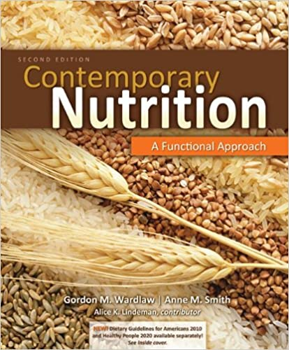 Book Combo: Contemporary Nutrition: A Functional Approach with NCP 3.2 Student Access Card