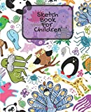 img - for Sketch Book For Children: Animals Childrens Unlined Journal With Small Pictures | Draw, Write, Doddle, Diary, Jotter, Blank Pages | 80 Paged Medium Notebook (Kids Blank Collection) (Volume 14) book / textbook / text book