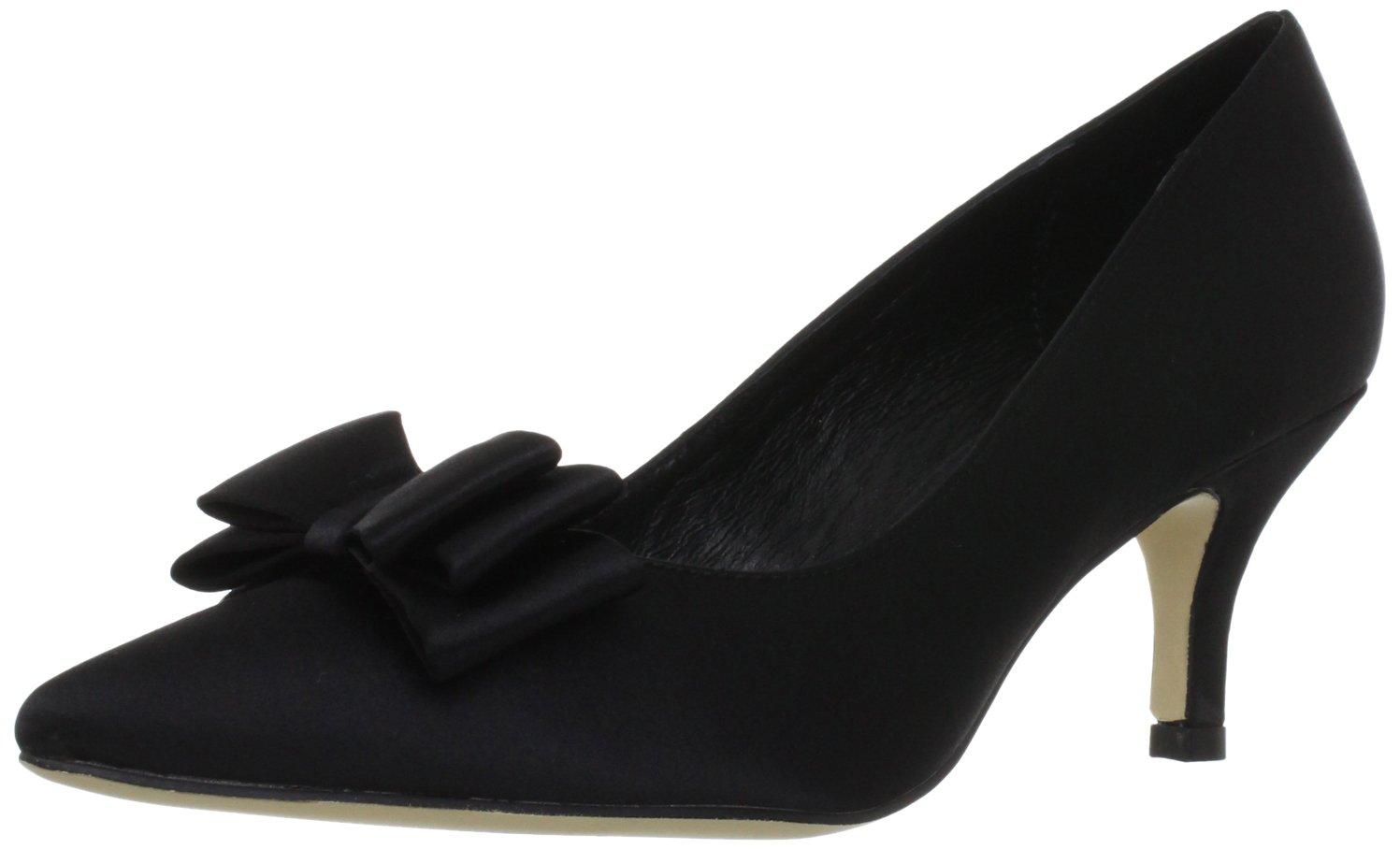 MENBUR Pechora 5031 - Zapatos clásicos de satén para mujer 37 EU|Negro