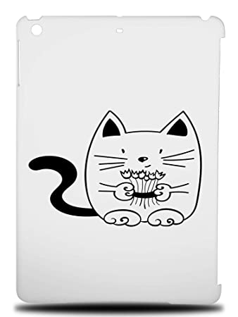 Amazon Com Minimalistic Cat 9 Hard Back Case Cover For Apple Ipad