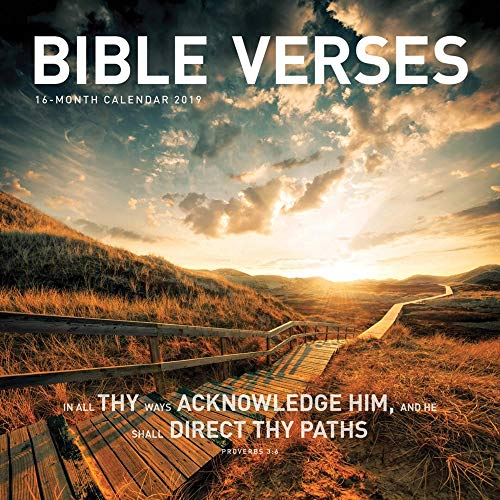 - 2019 Bible Verses 2019 Wall Calendar, Bible by Vista Stationery & Print Ltd