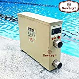 5.5KW 220V Swimming Pool & Bath SPA Hot Tub Electric Water Heater Thermostat Heater Pump