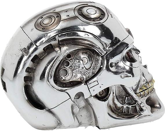 Nemesis Now NOW0949 D/écoration t/ête T-800 Terminator 2 Le Jugement Dernier