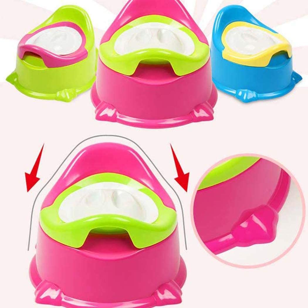 Dolnfin Durable Portable Detachable Cute Children Potty Home Baby Potty Seats