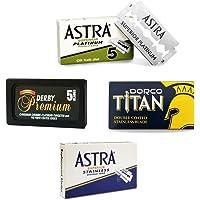 The Goodfellas' Smile - Titan/Premium Astra - Cuchillas de afeitar, 25 unidades
