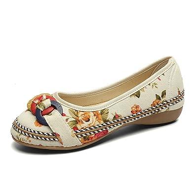 YEBIRAL Damen Ballerinas Klassisch Elegant Flache Schuhe