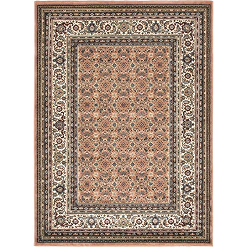"eCarpet Gallery 101774 Medallion Style Area Rug 5'6"" x 7'6"" Orange from eCarpet Gallery"