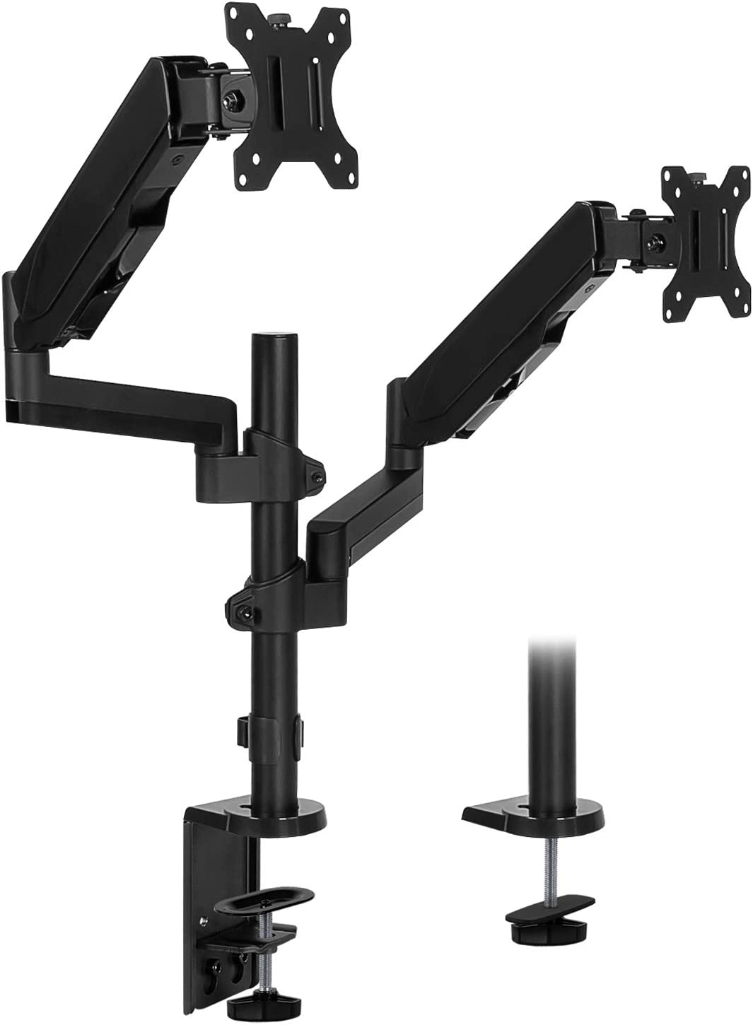 Mount-It! Dual Monitor Arm Mount Desk Stand