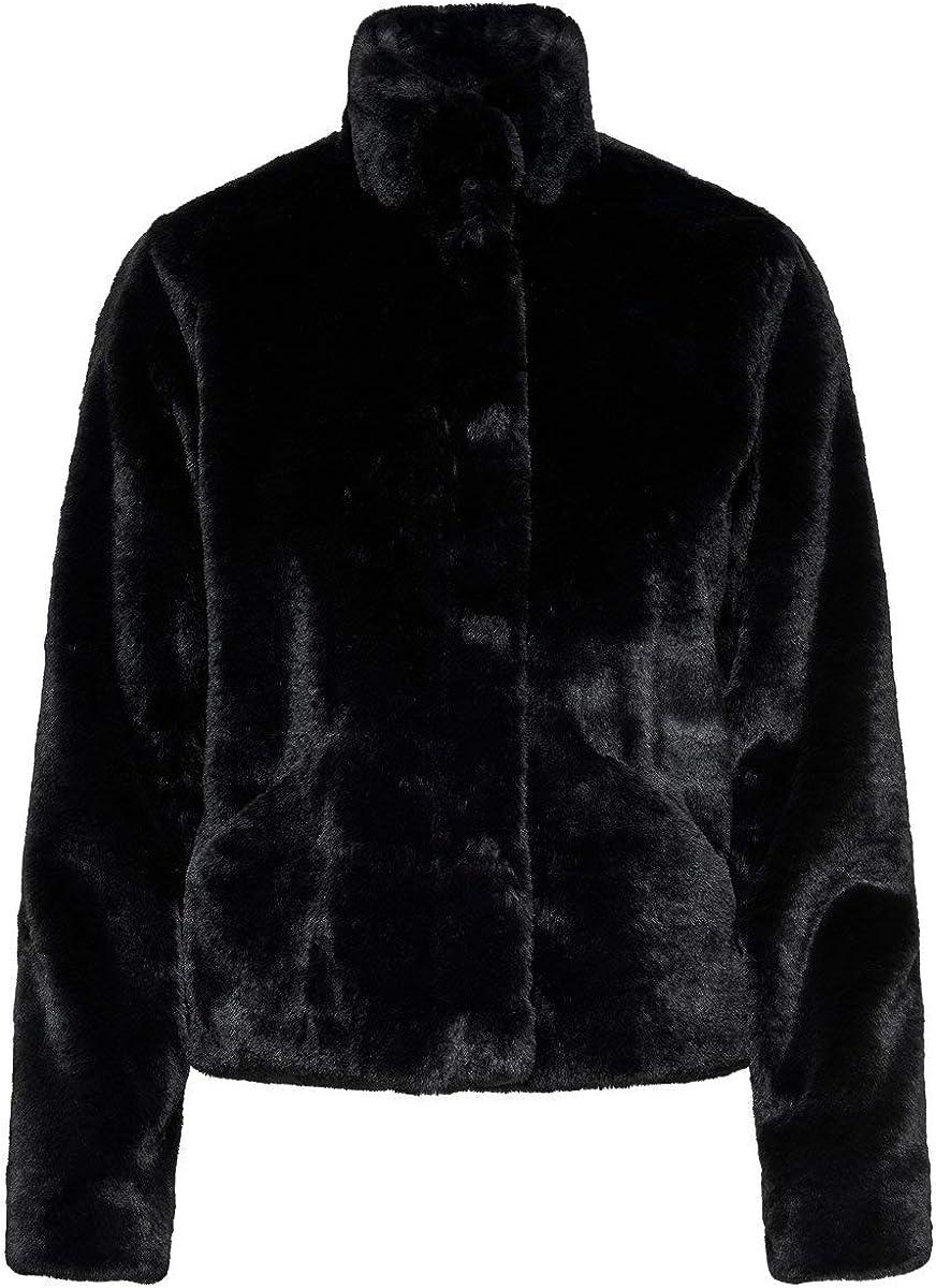 Only Onlvida Faux Fur Jacket Otw Noos Chaqueta para Mujer