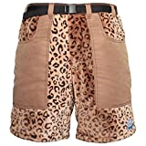 Polar Shorts Fleece Shorts For Cool Weather (Leopard 32)