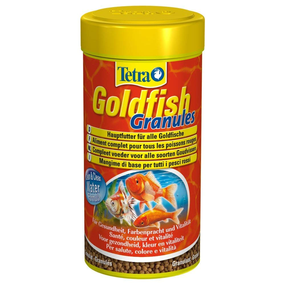Tetra Goldfish - Alimento completo peces rojos - Favorece el crecimiento, la salud y la longevidad - Resalta el color - Granulado - 250 ml: Amazon.es: ...