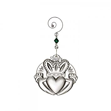 Image Unavailable. Image not available for. Color: Waterford 2015 Annual  Irish Claddagh Crystal Christmas Ornament - Amazon.com: Waterford 2015 Annual Irish Claddagh Crystal Christmas