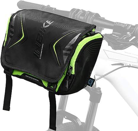 Bolsa delantera de bicicleta con funda impermeable Bolsa de ...