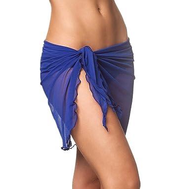 d0055196086a PassMe Pareo Mare Donna in Chiffon Colore Solido Gonna Copricostume da  Bagno Abito da Spiaggia Bikini Cover Up Beachwear  Amazon.it  Abbigliamento
