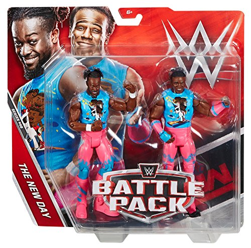 WWE Kofi Kingston & Xavier Woods Action Figure (2 Pack) by WWE