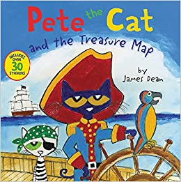 Buy Pete the Cat and the Treasure Map Book Online at Low Prices in
